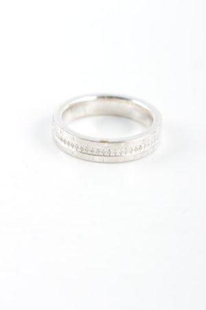 Thomas Sabo Silver Ring silver-colored Label engraving