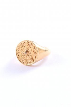 Thomas Sabo Statement Ring gold-colored casual look