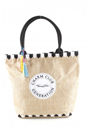 Thomas Sabo Stofftasche meliert Casual-Look