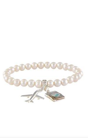 Thomas Sabo Bracelet à breloques blanc-argenté
