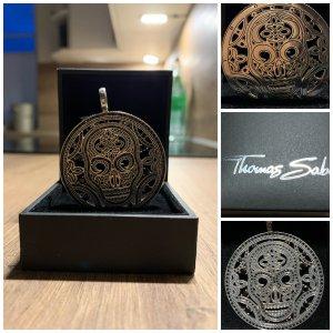 Thomas Sabo Pendentif argenté-noir argent