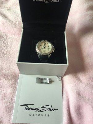 Thomas Sabo Reloj color plata-blanco