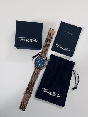 "Thomas Sabo Uhr ""Glam Spirit"", Roségold, Milanaise Armband"