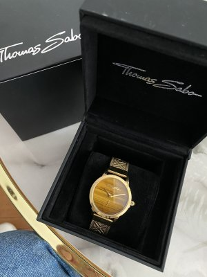 Thomas Sabo Watch With Metal Strap gold-colored-beige