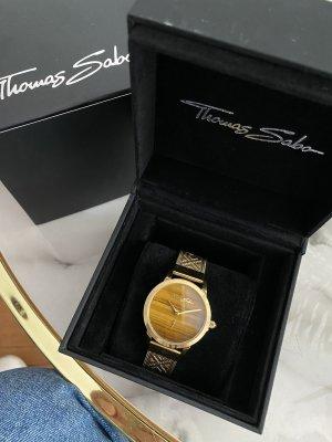 Thomas Sabo Reloj con pulsera metálica color oro-beige