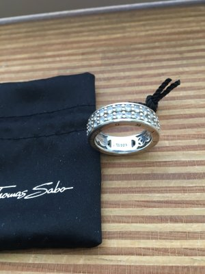 Thomas Sabo zweireihiger Ring 54