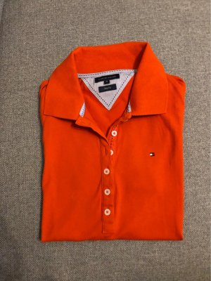 Thommy Hilfiger Polo, kurzarm, Orange