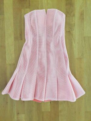 Three Floor Kleid roséfarben schulterfrei