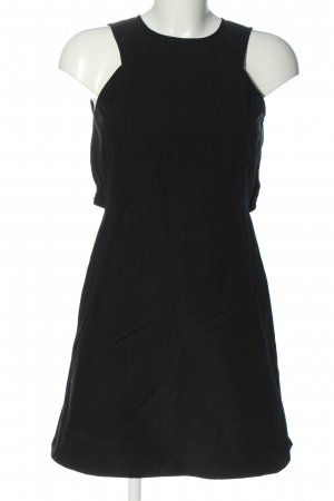 THREE GRACES Minikleid schwarz Streifenmuster Casual-Look