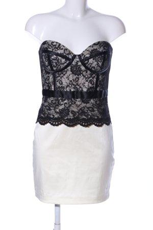 THREE LITTLE WORDS Bandeau Dress natural white-black elegant