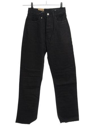 THRILLS High Waist Jeans schwarz Elegant