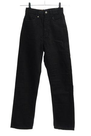 THRILLS Straight-Leg Jeans schwarz Casual-Look