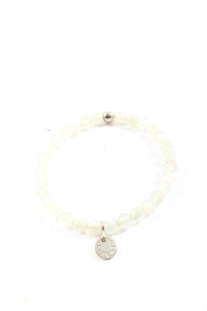 Ti Sento Bracelet en perles argenté-blanc élégant