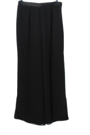 Tia Baggy broek zwart zakelijke stijl