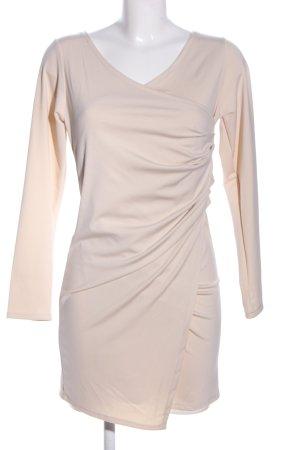 TIANXUAN Vestido elástico blanco puro elegante