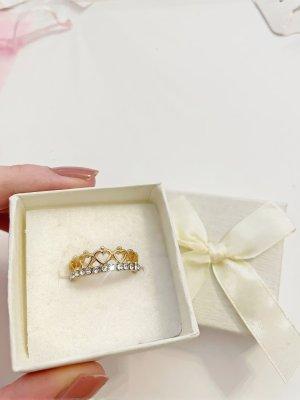 Tiara Ring Gold Diamanten Frauen Schmuck Originalverpackt