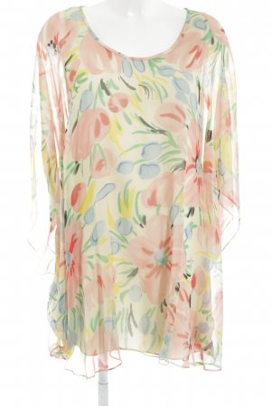 Tibi Kurzarm-Bluse florales Muster Casual-Look