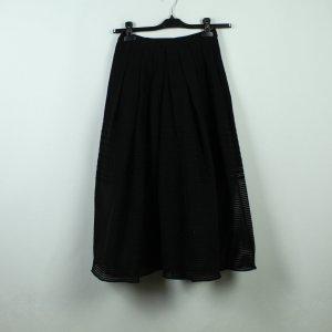 Tibi NYC Wool Skirt black
