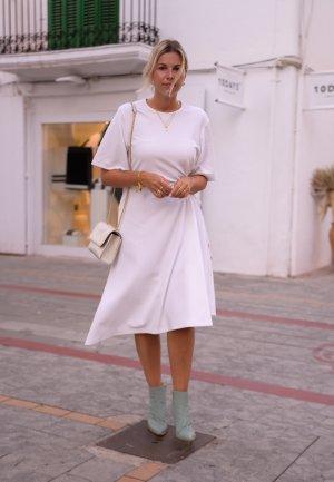 Tibi Reißverschluss-Stiefeletten türkis Casual-Look
