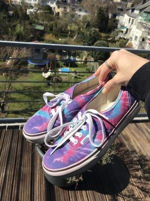 Tie dye Authentic Vans