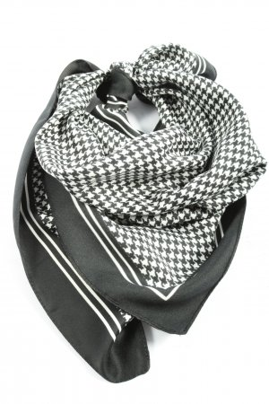 Tie Rack Neckerchief black-white allover print casual look