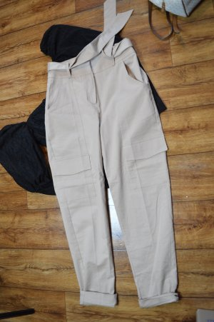 Tie Waist Patch Pocket Pants Gr. 36 Nakd
