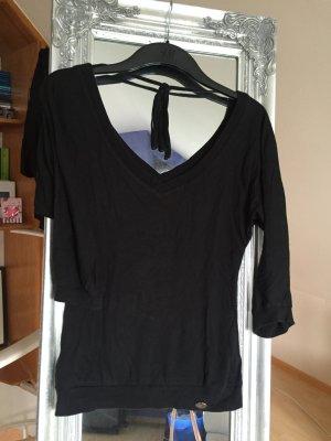 Tief ausgeschnittenes Shirt mit Schleife von QS by S.Oliver