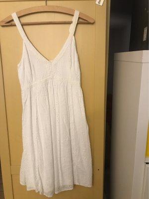 Hollister Midi Dress white