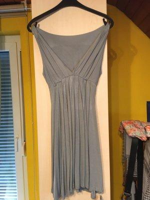 Empire Dress grey viscose