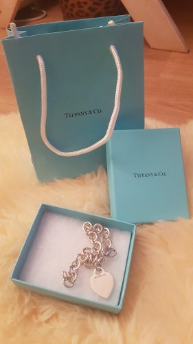 tiffany Brazalete de plata color plata