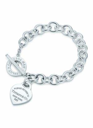 "Tiffany Armband ""Return to Tiffany"" small 925er Sterling Silber Wie Neu & Original"