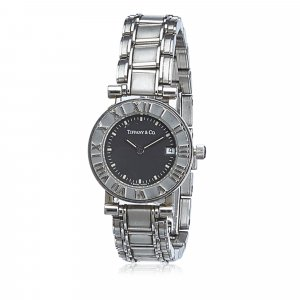Tiffany&Co Reloj color plata acero inoxidable