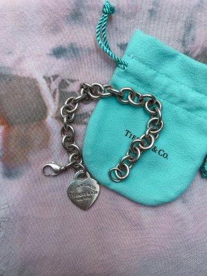 Tiffany Charm Armband Herzanhänger