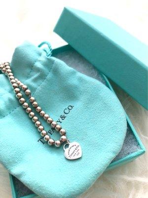 Tiffany&Co Bracelet argenté-rose clair