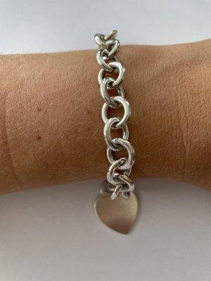 Tiffany&Co Charm Bracelet silver-colored