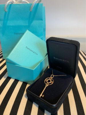 Tiffany&Co Gold Chain rose-gold-coloured real gold