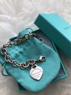 Tiffany&Co Bracelet argenté-bleu clair