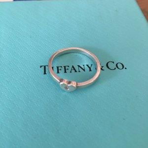 Tiffany&Co Bague en argent argenté tissu mixte