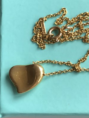 Tiffany & Co Elsa Peretti Full Heart Kette Gold