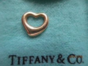 Tiffany & Co. Elsa Peretti Open Heart Anhänger 11 mm 750 Gold