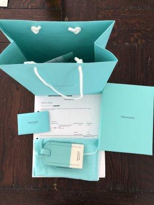 Tiffany&Co Maleta azul claro-blanco