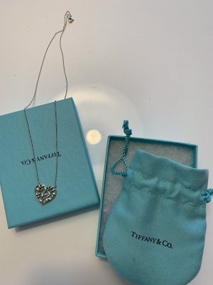 Tiffany & Co. Halskette Olive Leaf Herzanhänger