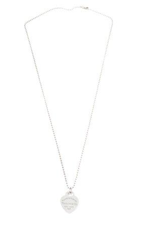 Tiffany&Co Halskette silberfarben Casual-Look