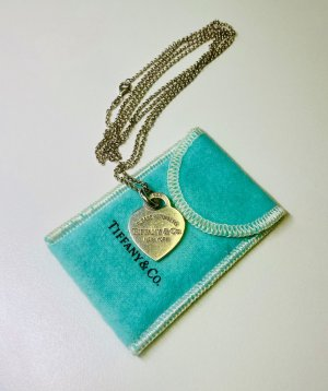 Tiffany&Co - Herz-Charm + lange Kette - original