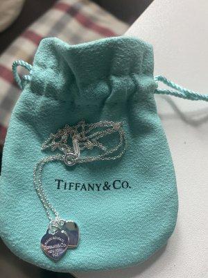 Tiffany&Co Srebrny łańcuch srebrny