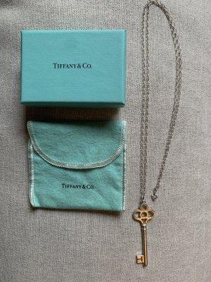 Tiffany & Co Kette mit Schlüssel-Anhänger in 925 Sterlingsilber