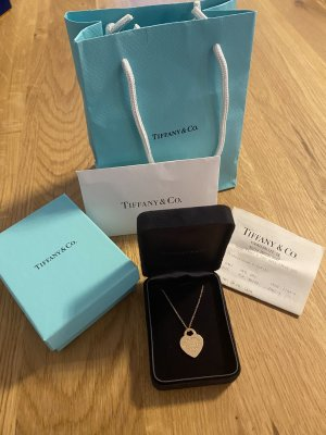 Tiffany&Co Collier or rose or