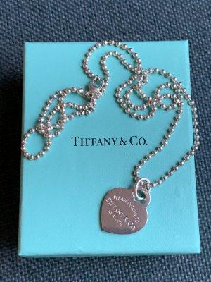 Tiffany&Co Cadena de plata color plata