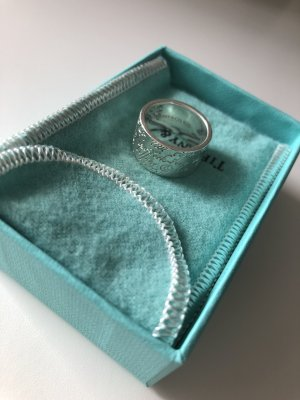 Tiffany&Co Silver Ring silver-colored