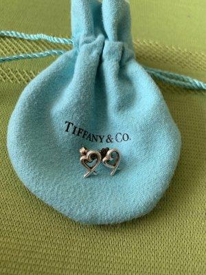 Tiffany&Co Srebrne kolczyki srebrny